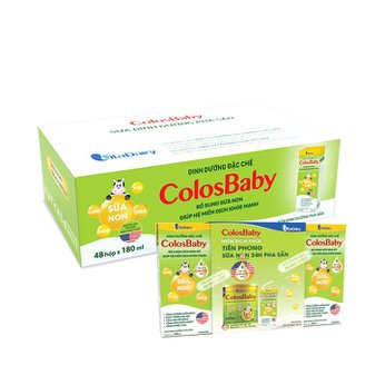 Sữa dinh dưỡng pha sẵn ColosBaby 180ml