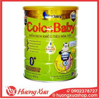 Sữa Colosbaby Bio Gold 0+ - Miễn dịch khỏe, tiêu hóa tốt
