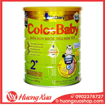 Sữa Colosbaby Bio Gold 2+ - Miễn dịch khỏe, tiêu hóa tốt