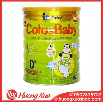 Sữa Colosbaby IQ Gold 0+ - Miễn dịch khỏe, bé thông minh