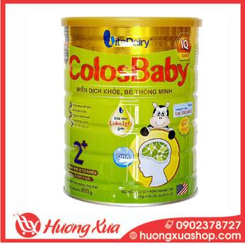 Sữa Colosbaby IQ Gold 2+ - Miễn dịch khỏe, bé thông minh