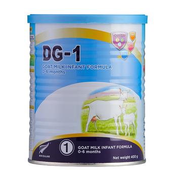 Sữa dê DG-1 400g – thực phẩm công thức dinh dưỡng cho trẻ từ 0-6 tháng