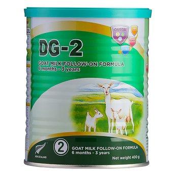 Sữa dê DG-2 400g – thực phẩm công thức dinh dưỡng cho trẻ từ 6 tháng – 3 tuổi