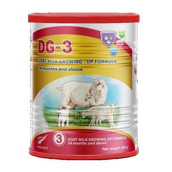Sữa dê DG-3 400g – thực phẩm công thức dinh dưỡng cho trẻ từ 3 tuổi trở lên
