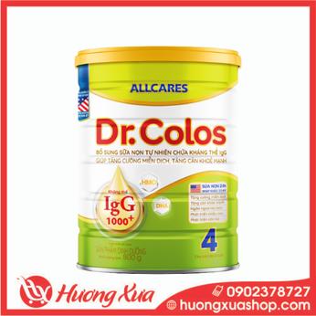 Sữa Allcares Dr.colos 4 Tăng cường miễn dịch , Tăng cân khỏe mạnh