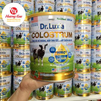 Sữa Dr.luxia Colostrum Step 4 800g