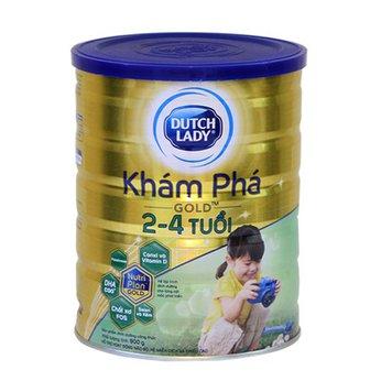 Sữa Dutch Lady Khám phá Gold 900g