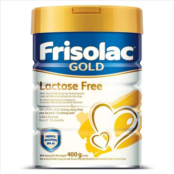Sữa Frisolac Gold Lactose Free 400g