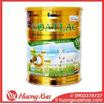 Sữa Dê GOATLAC Gold 0+ - Mát lành bổ dưỡng, tiêu hóa vượt trội