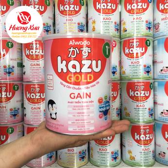 Sữa Kazu Gain 1+ Tăng cân Chuẩn ,Tiêu Hóa Tốt