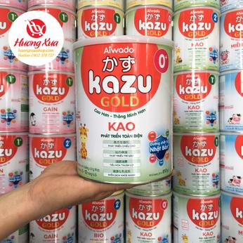 Sữa Kazu Kao 0+ Cao Hơn , Thông Minh Hơn