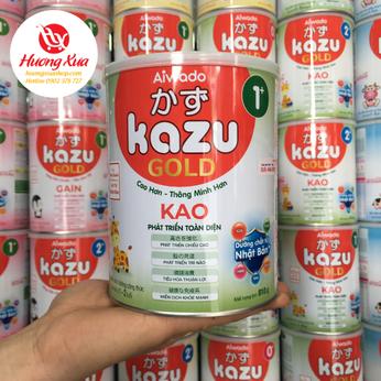 Sữa Kazu Kao 1+ Cao Hơn , Thông Minh Hơn