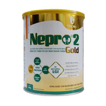Sữa Nepro Gold 2 400g - Dành cho người bệnh thận và tiểu đường