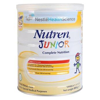 Sữa Nutren Junior 800g dành cho trẻ suy dinh dưỡng