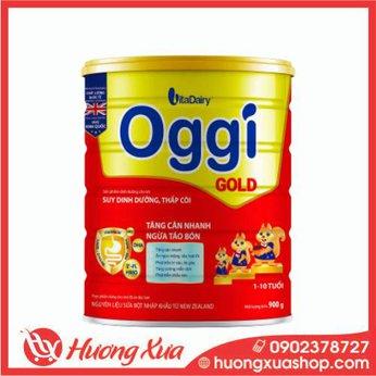 Sữa Oggi Gold 900g tăng cân nhanh, ngừa táo bón