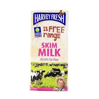 Sữa Tươi Tiệt Trùng Tách Béo Harvey Fresh 1L