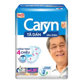 Tã dán siêu thấm Caryn M/L 10