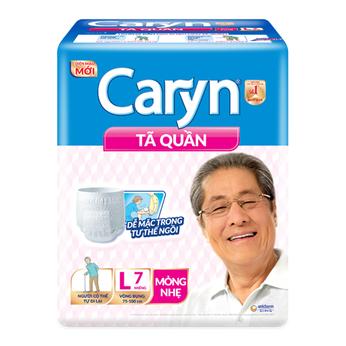 Tã quần mỏng nhẹ Caryn L7