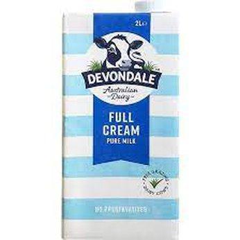 Sữa tiệt trùng Devondale nguyên kem 10h/1 lít