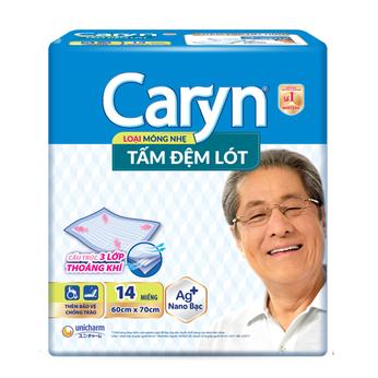 Tấm đệm lót mỏng nhẹ Caryn XL 14