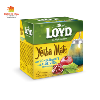 Trà Loyd Yerba Mate With Pomegranate and Aloe Vera Flavouring