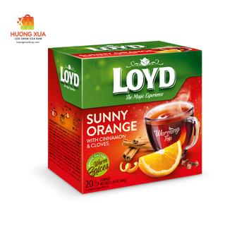 Trà Loyd Sunny OrangeWith Cinnamon & Cloves