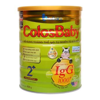 Sữa Colosbaby Gold 2+ Kháng thể IgG  tự nhiên từ sữa non ColosIgG 24 H