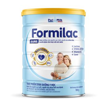 Sữa Formilac Sure dành cho người ăn uống kém, cần phục hồi sức khỏe