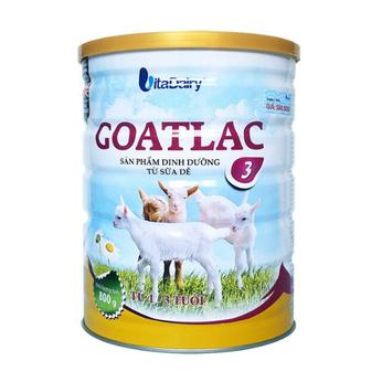 Goatlac 3 ( từ 1-3 tuổi ) 800g -Sữa dê mát lành, tiêu hóa vượt trội