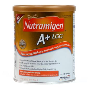 Sữa Nutramigen A+ LGG cho trẻ dị ứng đạm sữa bò