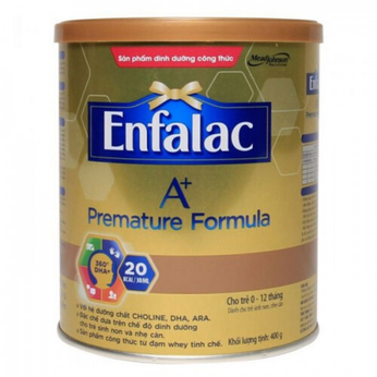 Sữa Enfalac A+ Premature cho trẻ sinh non