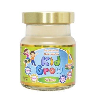 Thực phẩm bổ sung Nước yến sào Kid Grow vị Cam - Lọ 70ml
