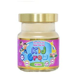 Thực phẩm bổ sung Nước yến sào Kid Grow vị Dâu - Lọ 70ml