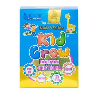 Thực phẩm bổ sung Nước Yến Sào KidGrow Hương Tự Nhiên - Lọ 70 ml