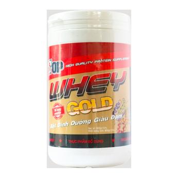 Sữa Top Whey Gold 800g – thực phẩm bổ sung bột dinh dưỡng giàu đạm