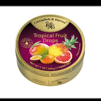 Kẹo Tropical Fruit Cavendish & Harvey 200g