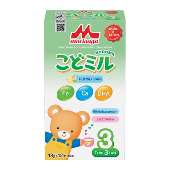 Sữa Morinaga số 3 (216g) hương vani