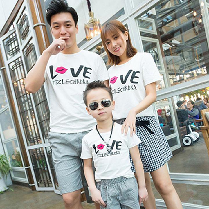 Áo Thun Gia Đình In Chữ LOVE ATN5736