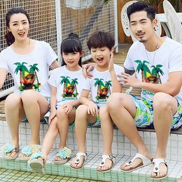 Áo Thun Gia Đình In Hello Summer ATN5430