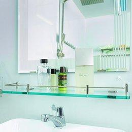 Kệ Kính Phòng Tắm Inox 304 Dày 10 Ly GS303