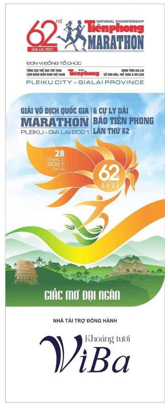 Khoáng tươi Viba đồng hành cùng giải Marathon Báo Tiền Phong 2021
