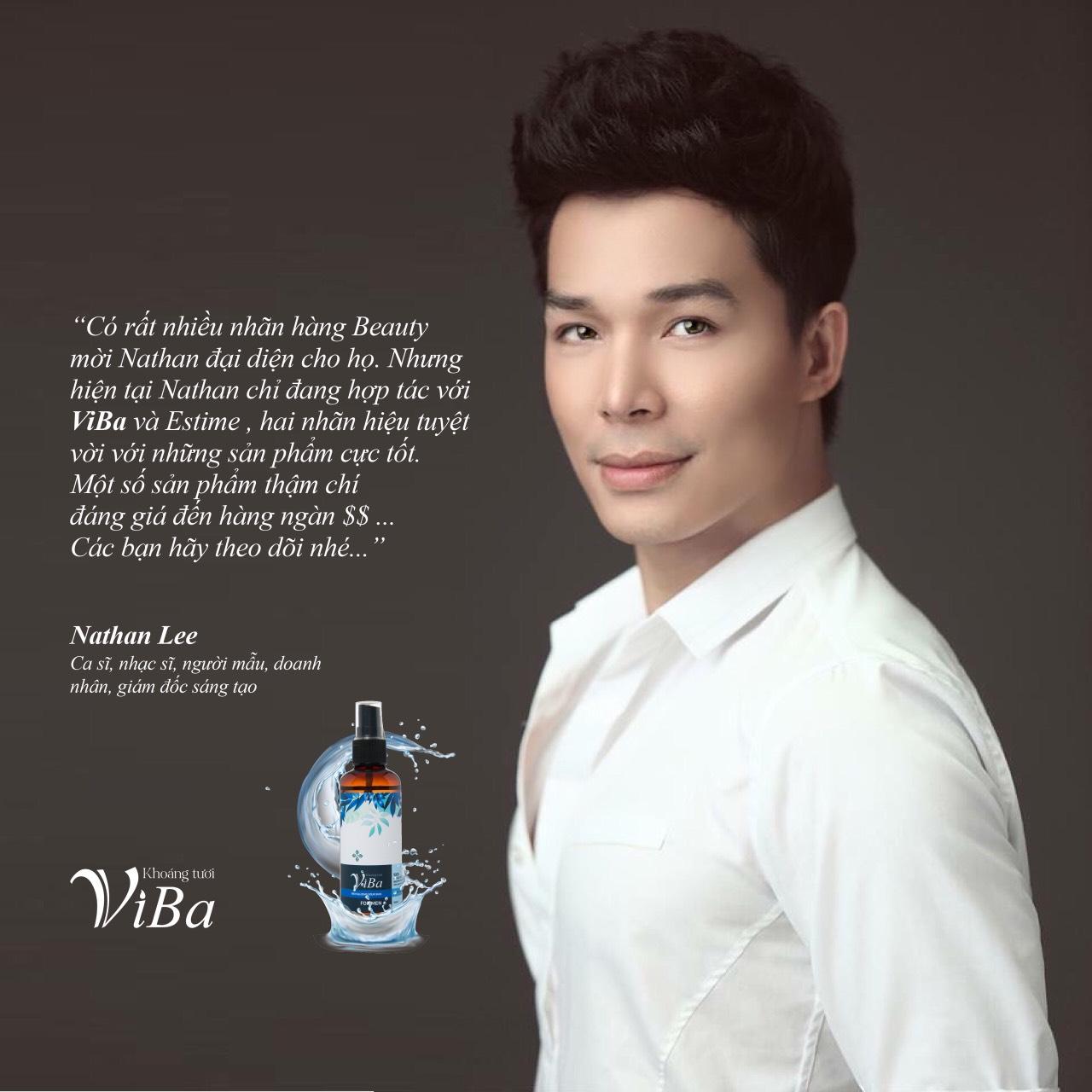 Đại sứ thương hiệu Khoáng tươi Viba - Nathan Lee