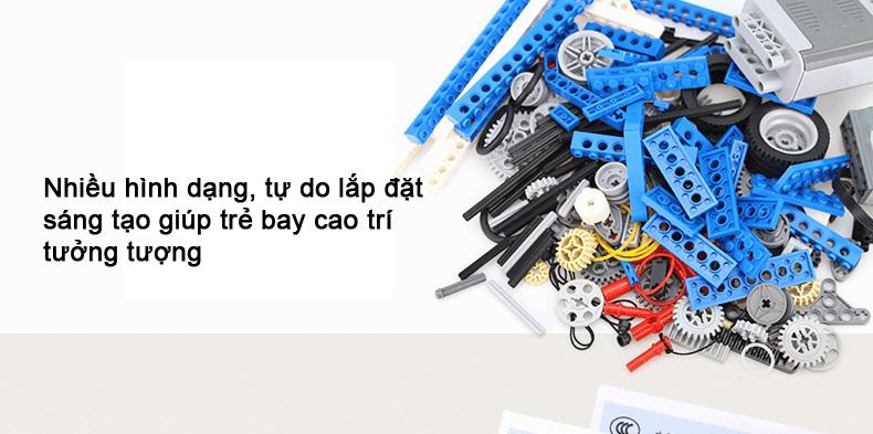 Bộ Lego 9686 chính hãng Kỹ sư cơ khí - Lego Education 9686 chính hãng
