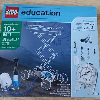 Bộ Lego Education 9641 Bộ khí và lực (bổ sung cho Lego 9686)