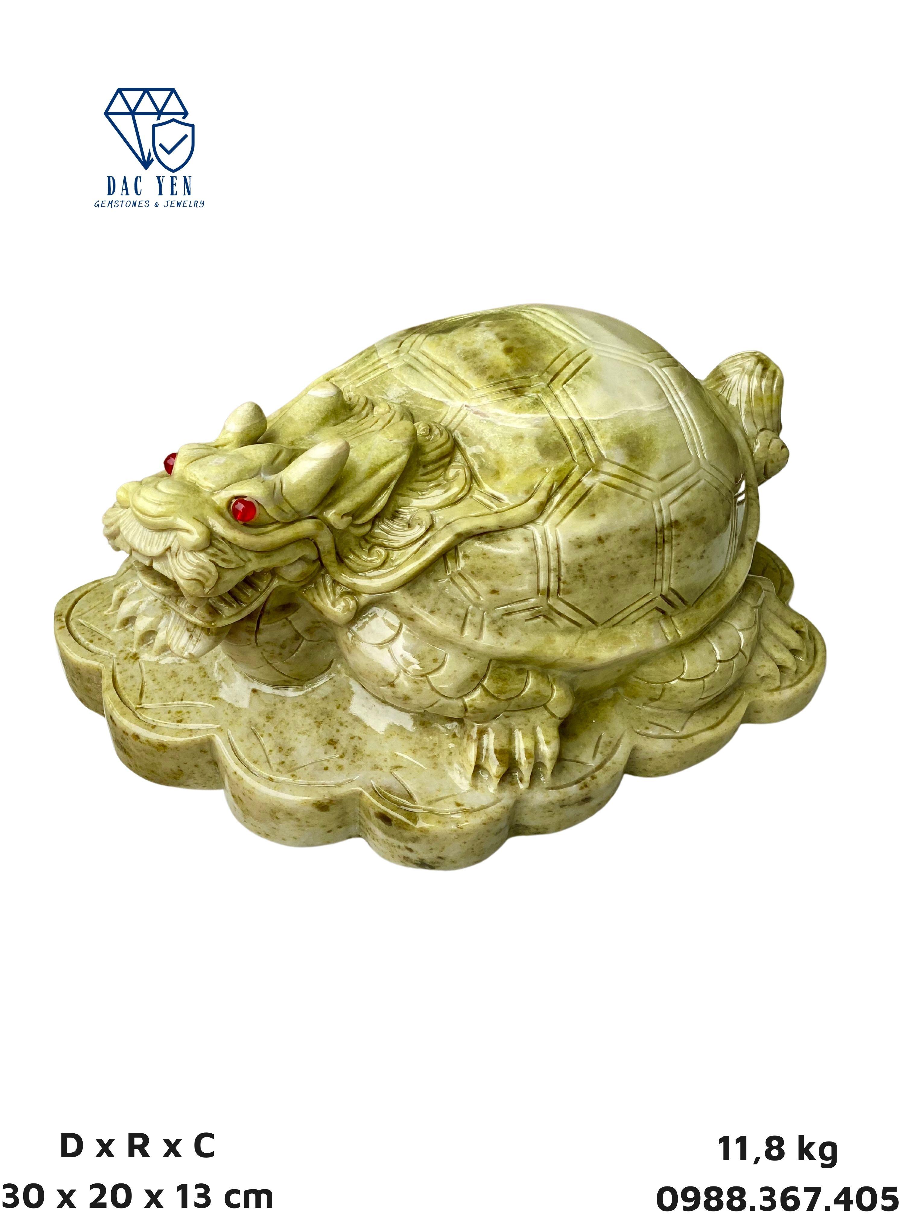Long Quy  - Tượng Long Quy - Rùa đầu rồng - Linh vật Phong Thủy