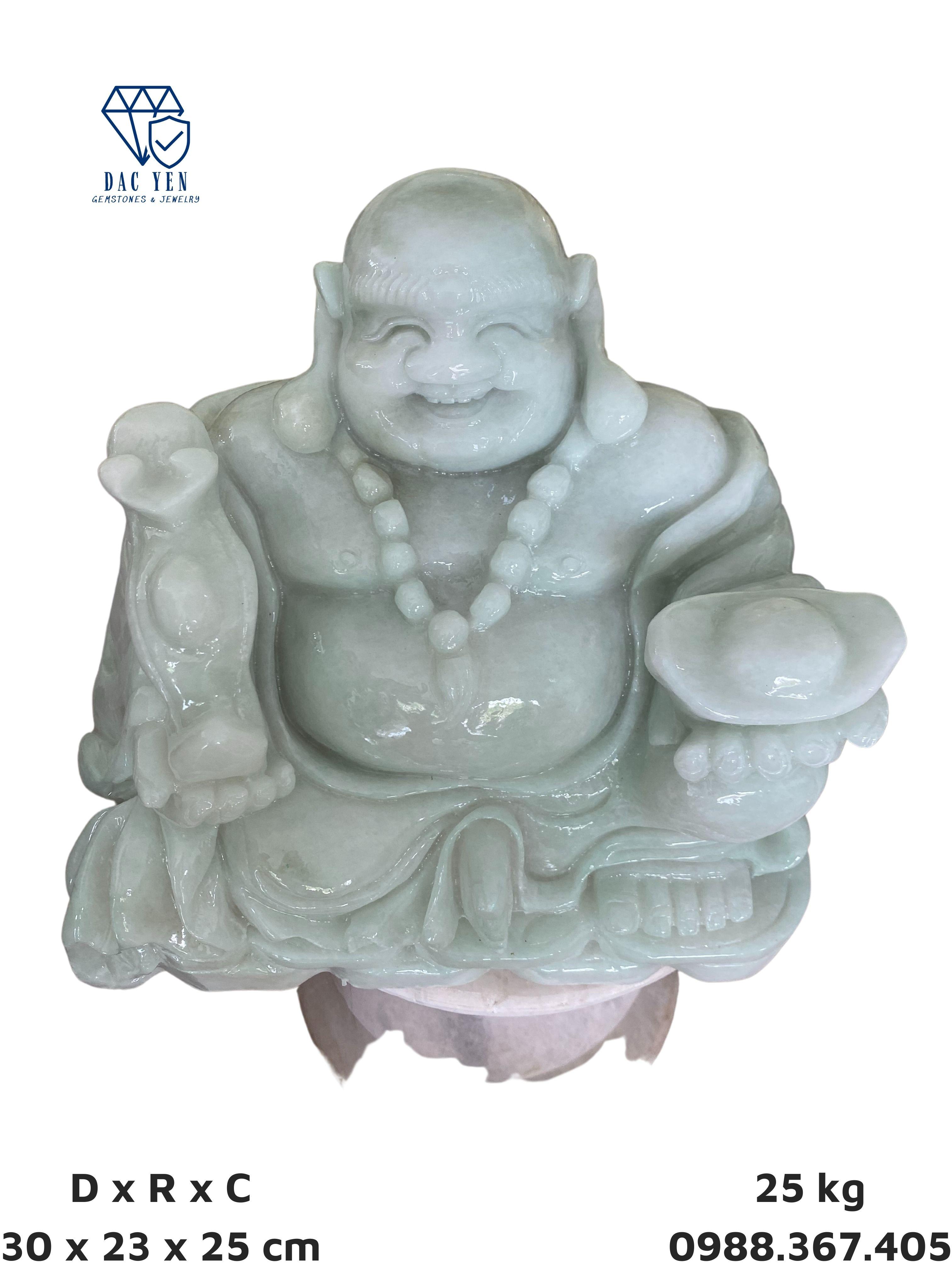 Tượng Phật Di Lặc, phật cười, tượng di lặc đá tự nhiên, tượng thần tài