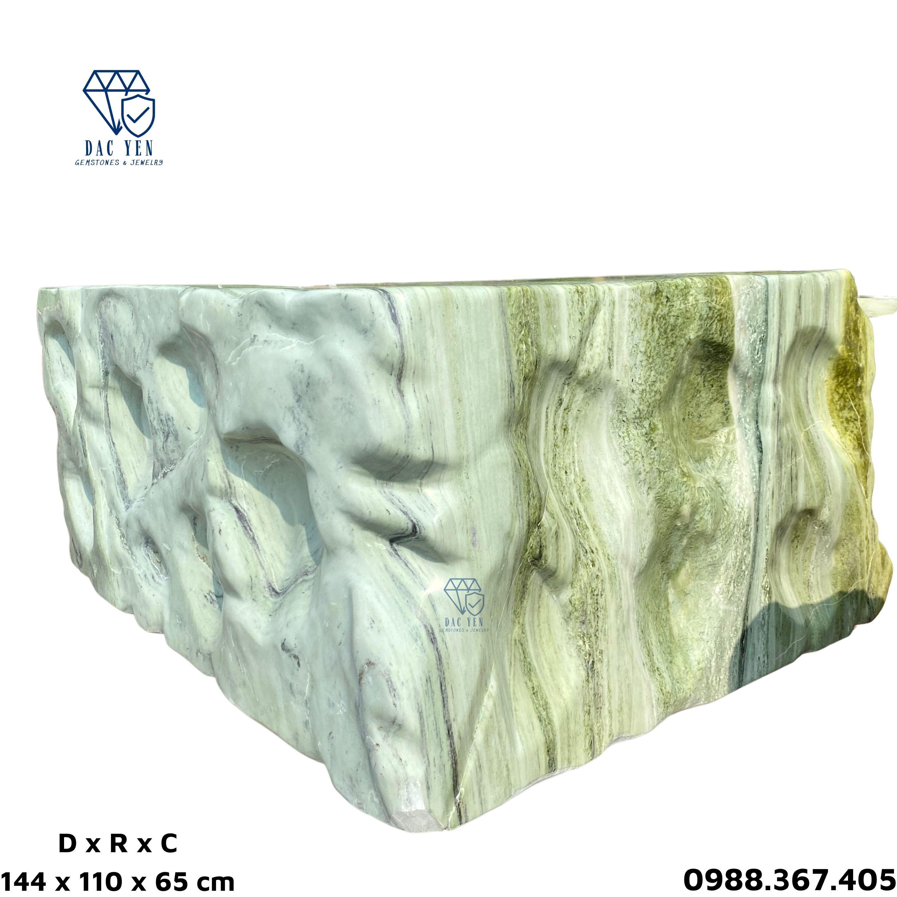 Bàn ghế đá nguyên khối, bàn ghế đá ngọc, bàn ghế đá tự nhiên Yên Bái