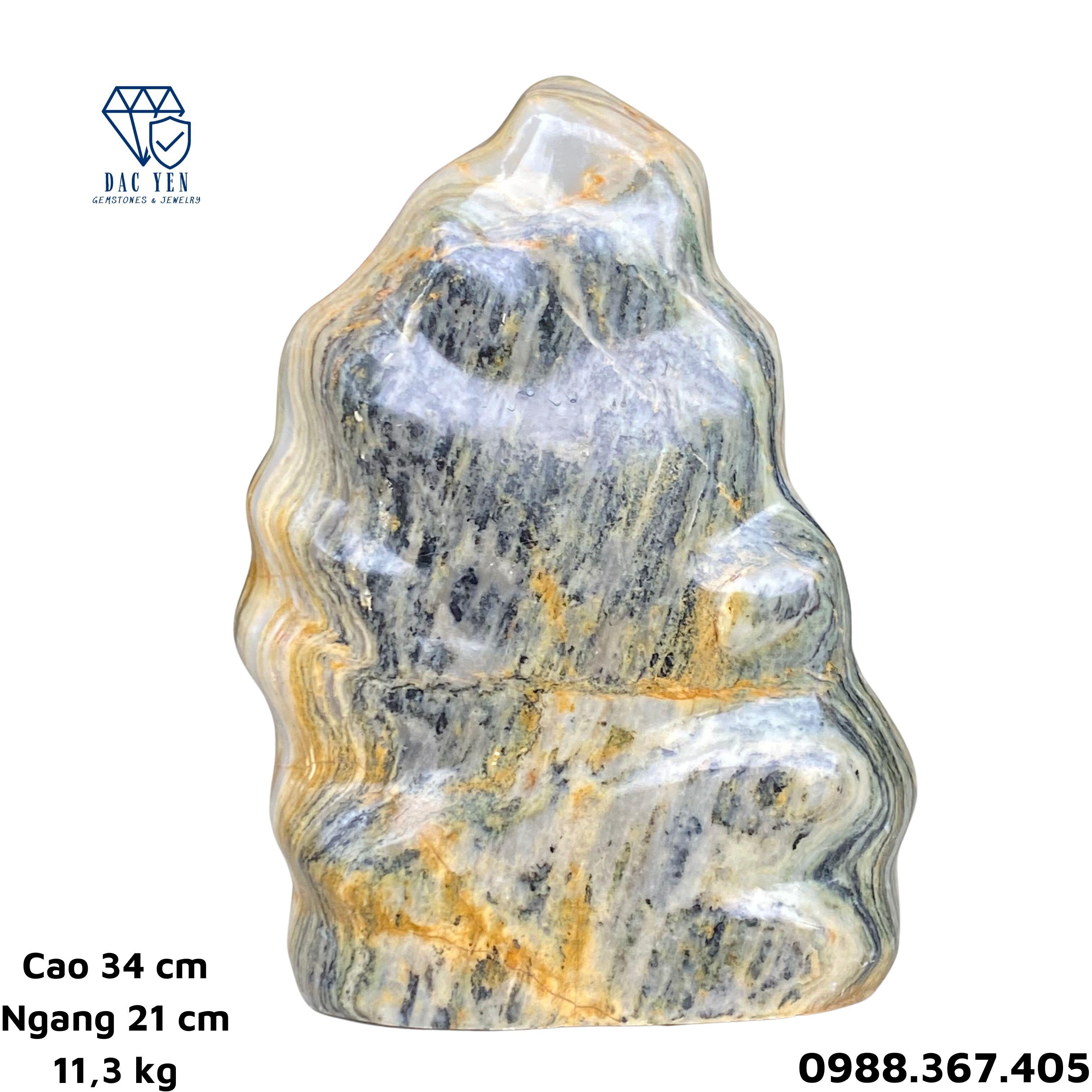 Đá ngũ sắc phong thủy, đá serpentine tự nhiên yên bái, đá phong thủy