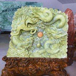 Tượng tứ linh long lân quy phụng đá ngọc tự nhiên Yên Bái - KT 68 x 86 cm