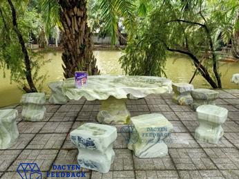 Mua bán bàn ghế đá tự nhiên nguyên khối đẹp tại Thừa Thiên Huế